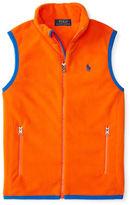 Ralph Lauren Boys 8-20 Zip-Front Fleece Vest