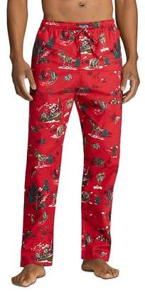 Polo Ralph Lauren Adirondack Scenic Flannel Pajama Pants