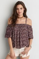 American Eagle Outfitters AE Cold Shoulder Top