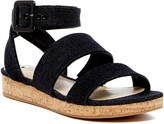 Via Spiga Dianne Denim Sandal