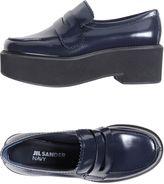 Jil Sander Navy Loafers