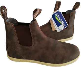 Blundstone Brown Leather Boots