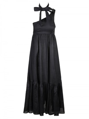 Zimmermann Empire Tie Neck Dress