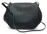 Bottega Veneta - 245343V - Black Crossbody Bag