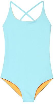 Melissa Odabash Kids Vicky reversible swimsuit