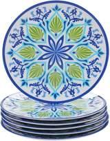 Certified International Morocco 6-piece Melamine Dinner Plate Set