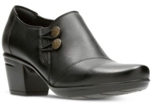 Clarks Collection Women's Emslie Warren Leather Shooties Women's Shoes