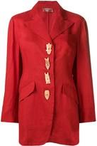 Romeo Gigli Pre Owned 1990's embellished blazer
