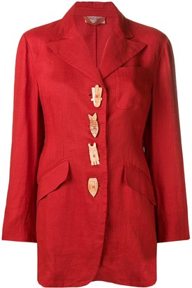 Romeo Gigli Pre-Owned 1990's Embellished Blazer