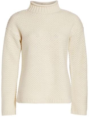 Theory Basket Stitch Funnelneck Sweater