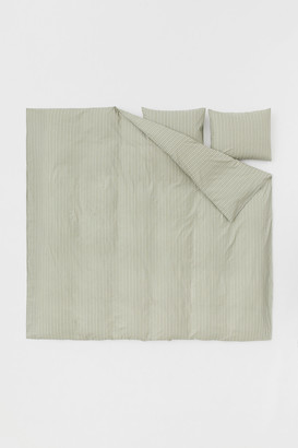 H&M Cotton Duvet Cover Set