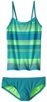 Nike Optic Shift V-Back Tankini Girl's Swimwear