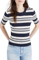 Madewell Women's Ribbed Sweater Top