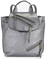 Marc Jacobs Metallic Zip Backpack