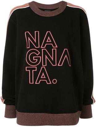 NAGNATA Embroidered Logo Jumper