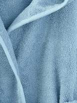 Child's Hooded Bathrobe - grey blue, Furniture & Bedding | Vertbaudet