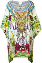 Camilla printed kaftan - women - Silk - One Size