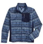 Vineyard Vines Boy's Fair Isle Fleece Sweater