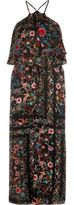 River Island Womens Floral print high neck slip dress