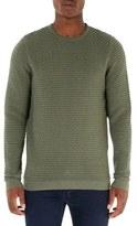 Topman Weave Textured Sweater