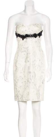 Derek Lam Beaded Brocade Dress