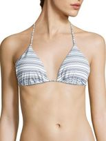 Shoshanna Seven Lakes Clean Triangle Bikini Top