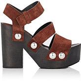 Alexander Wang Women's Tess Platform Sandals-BERRY