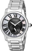 Mother of Pearl Louis Erard Women's 92602AA02.BMA16 Emotion Silver Stainless Steel Band Watch.