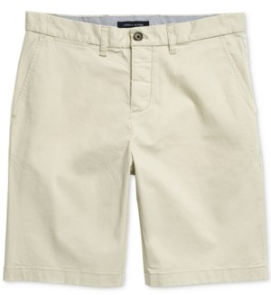 """Tommy Hilfiger Adaptive Men's 10"""" Classic-Fit Stretch Chino Shorts"""