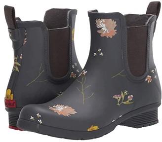 Chooka Flower Press Chelsea (Navy) Women's Boots