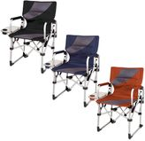 Picnic Time Meta Camping Chair in Burnt Orange/Grey