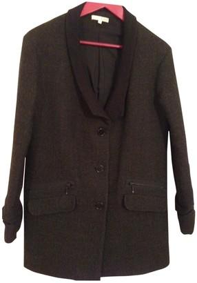 BA&SH Anthracite Wool Coats