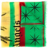 Palm Angels 'Rastafari Skull' scarf - men - Cashmere/Pashmina/Modal - One Size