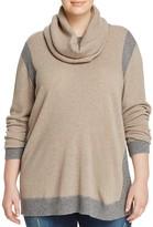 Marina Rinaldi Abilita Colorblock Convertible Sweater