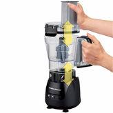 Hamilton Beach Stack & Snap 4-Cup Compact Food Processor