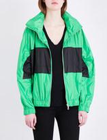 Kenzo Logo-print shell windbreaker jacket