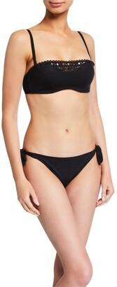 Lise Charmel Ajourage Couture Openwork Padded Bandeau Bikini Top