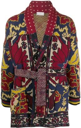 Pierre Louis Mascia Tie-Waist Jacket