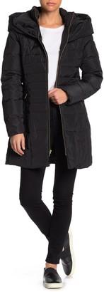 Cole Haan Zip Front Down Jacket