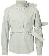 Craig Green strap detail shirt - men - Cotton/Nylon/Polyester - M
