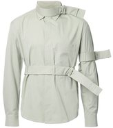 Craig Green strap detail shirt - men - Cotton/Nylon/Polyester - S