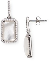 Nadri Sterling Royal Mother-of-Pearl Drop Earrings