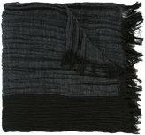 Issey Miyake woven scarf - men - Silk/Linen/Flax/Cupro - One Size
