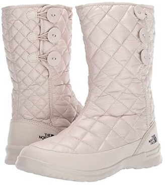 The North Face ThermoBall Button Up (Pumice Stone/TNF Black) Women's Pull-on Boots