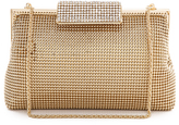 Whiting & Davis Crystal Clasp Clutch