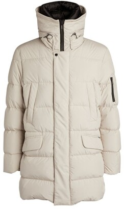 Moorer High-Neck Padded Parka