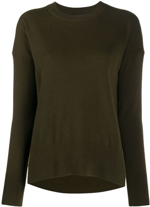 Theory Slouchy Fine Knit Jumper