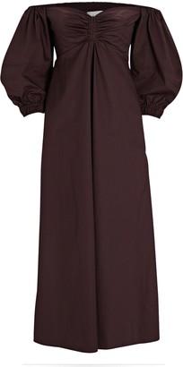 A.L.C. Lisbeth Off-The-Shoulder Maxi Dress