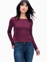 Splendid French Stripe Long Sleeve Top