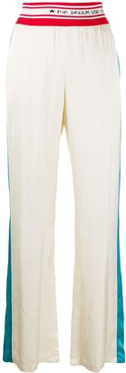 Golden Goose Side Stripe High-Waisted Trousers